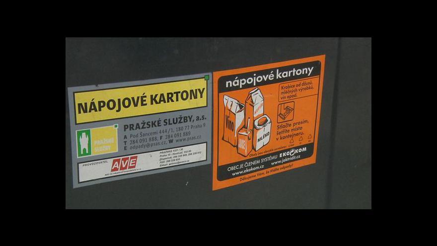Video Zájem Čechů o třídění odpadu roste