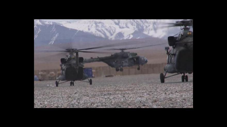 Video Čeští vojáci dál opouští Afghánistán, omezí se na kontrolní sbory