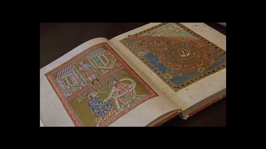 Video Kopie Vyšehradského kodexu před dokončením