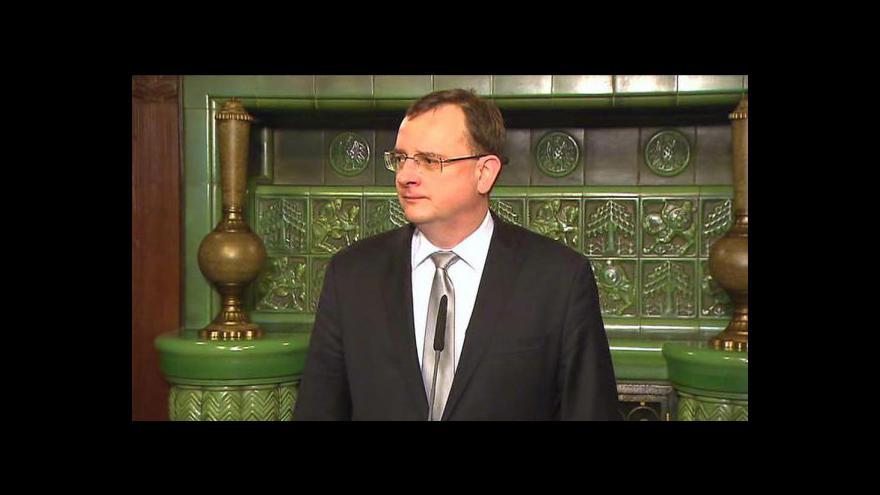 Video Rekace prezidenta a premiéra