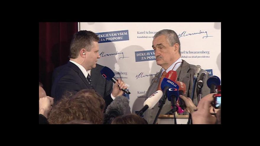 Video Rozhovor Daniela Takáče s Karlem Schwarzenbergem