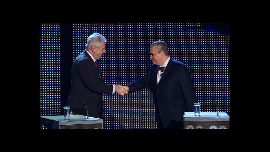 Video Ohlédnutí za poslední debatou prezidentských kandidátů