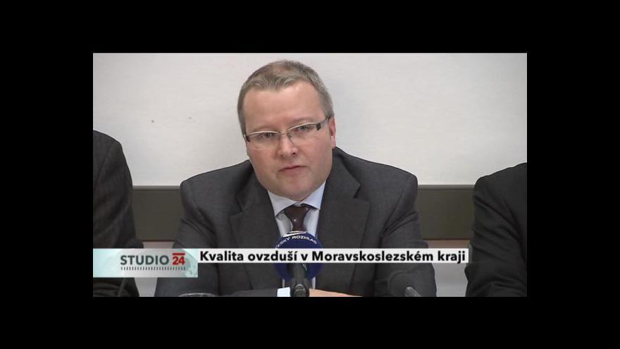 Video TK ministra životního prostředí Tomáše Chalupy kvůli kvalitě ovzduší