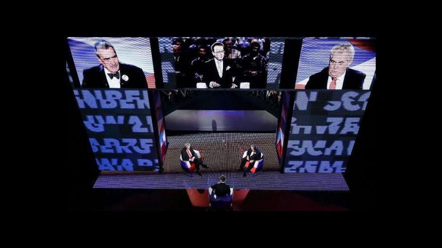 Video Reportáž Terezy Stárkové o televizním duelu