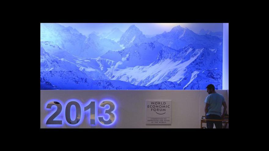 Video Světové špičky řeší v Davosu aktuální otázky