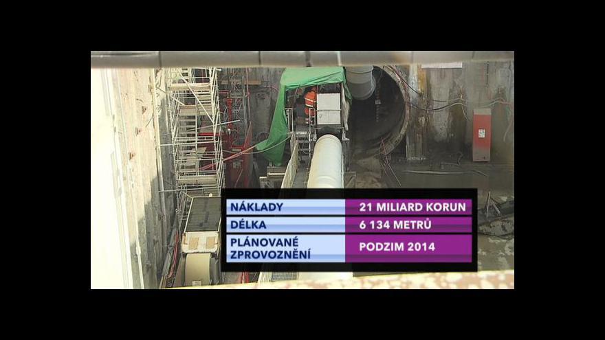 Video Stavbu nové části metra A si prohlédla veřejnost