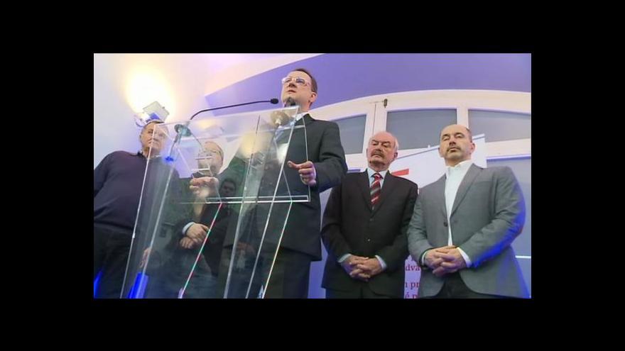 Video Reportáž Vladimíra Keblúška o dopadu prezidentské volby na ODS a ČSSD