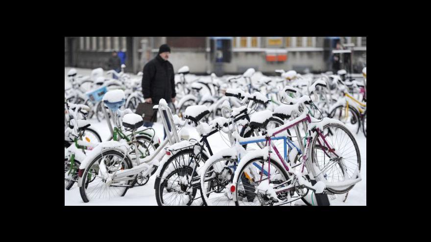 Video S polovinou ledna přišel do ČR znovu sníh