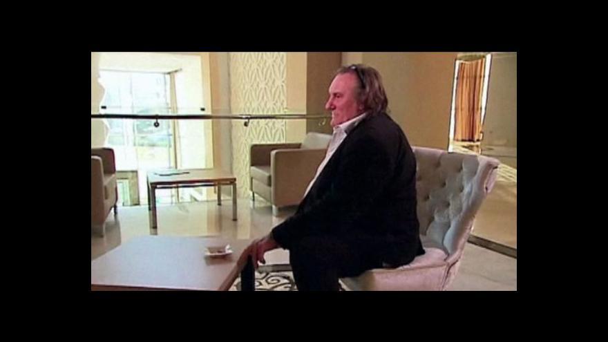 Video Depardieu kritizoval ruskou opozici