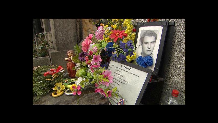 Video Reportáž Terezy Strnadové o dni Palachovy památky
