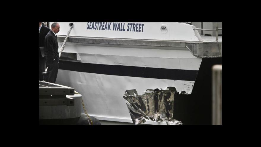 Video Šest desítek zraněných při havárii trajektu