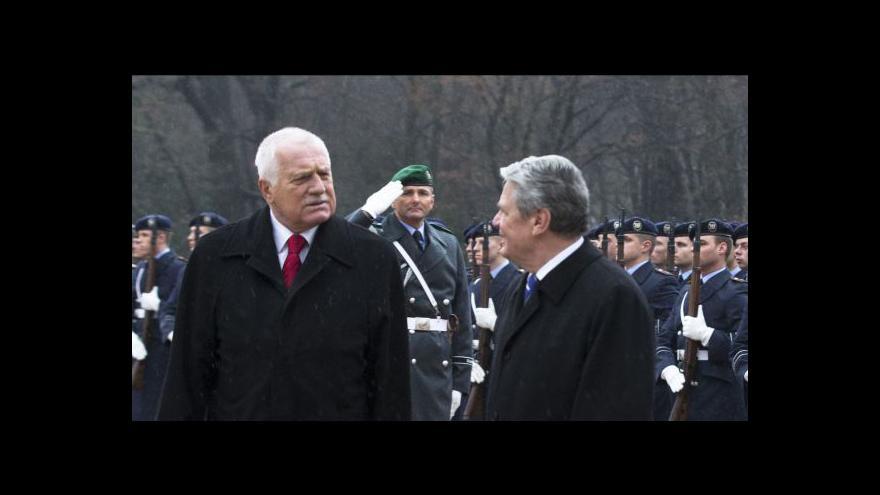 Video Návštěva Václava Klause v Německu
