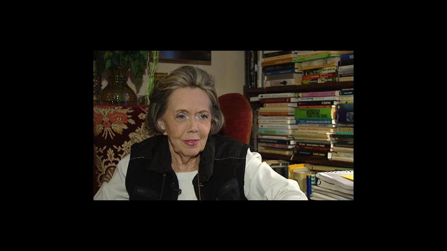 Video Rozhovor s Jiřinou Jiráskovou