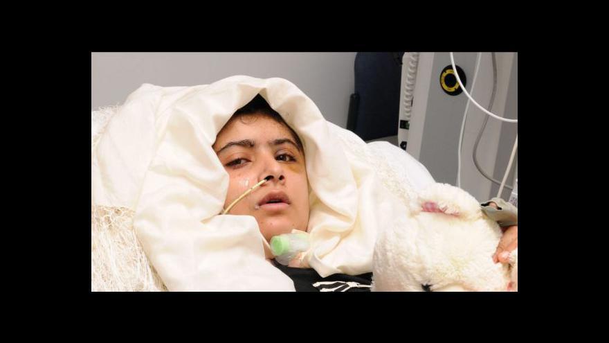 Video Malalu pustili z nemocnice