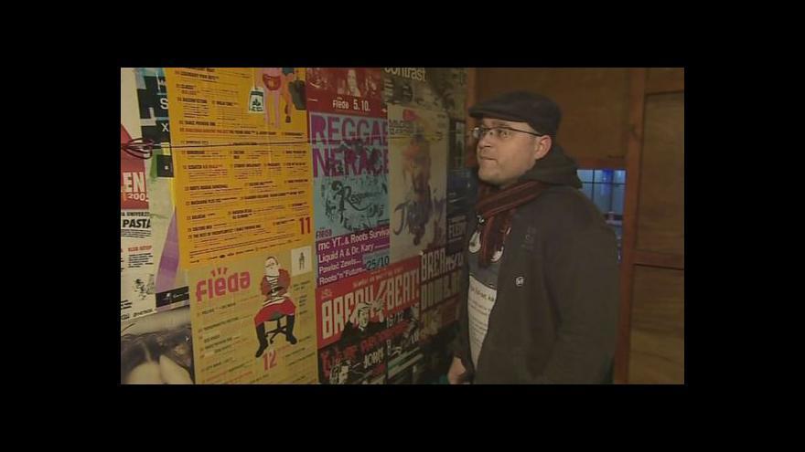 Video Pavel Cupák, ředitel hudebního klubu Fléda