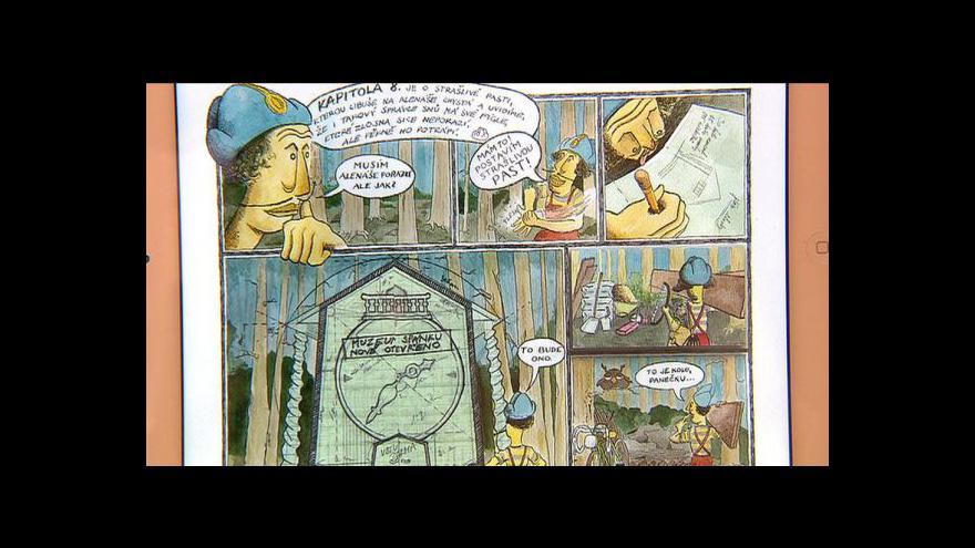 Video Interaktivní komiks Malý Alenáš
