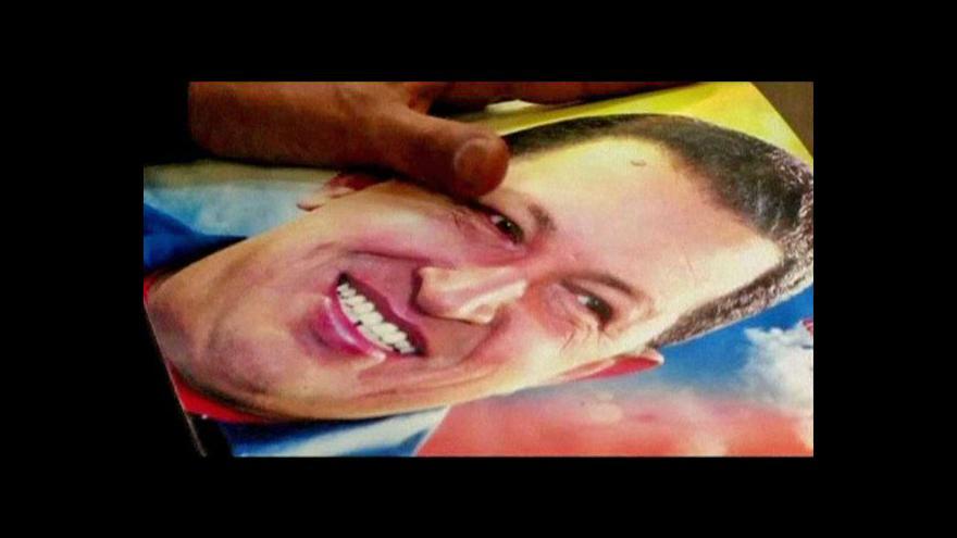 Video Chávezův stav je prý kritický