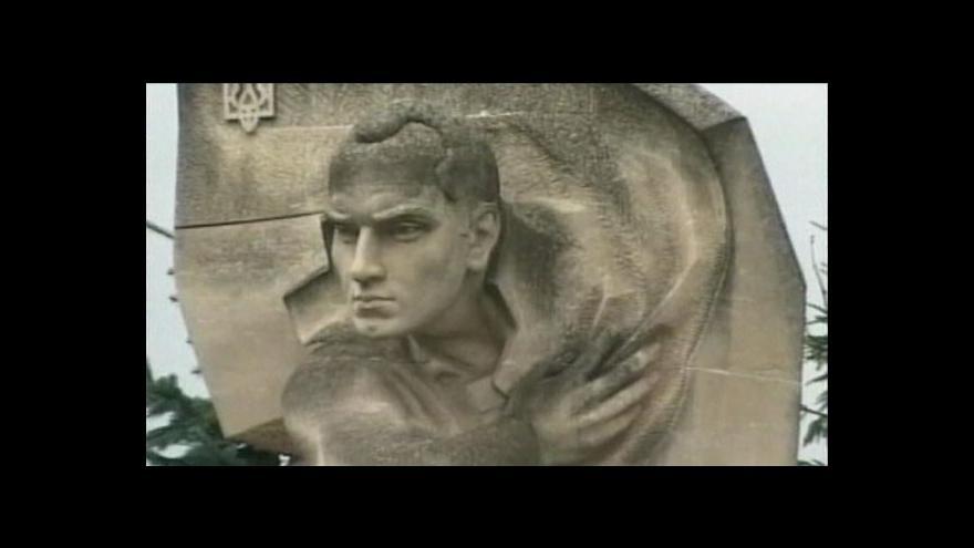 Video Ukrajinci slavili výročí narození Stepana Bandery