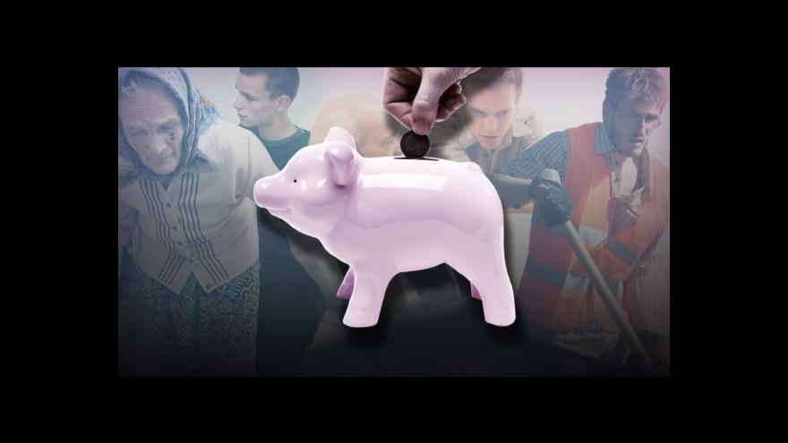 Video Penzijní reforma startuje, lidé mohou vstoupit do druhého pilíře