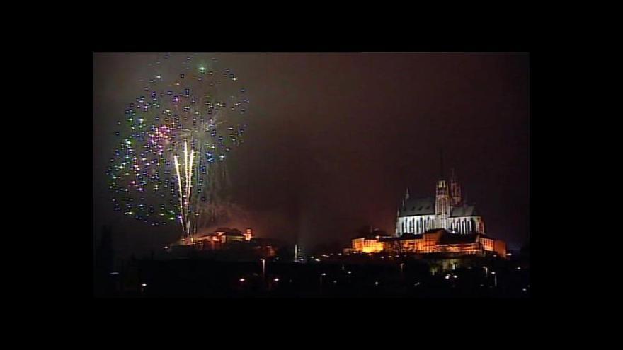 Video Novoroční ohňostroje