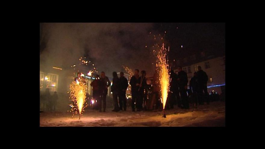 Video Silvestr 2012: Praha, Brno, Ostrava, Hostýn i Krkonoše