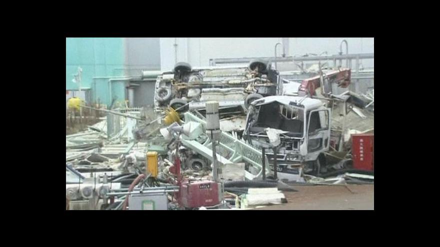 Video Premiér Abe navštívil Fukušimu