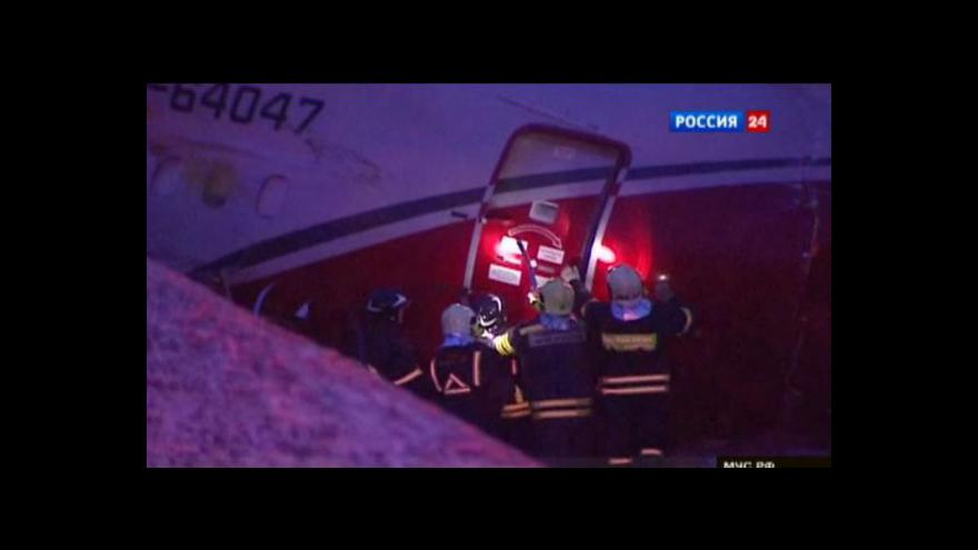 Video Tragédie na letišti Vnukovo tématem Událostí