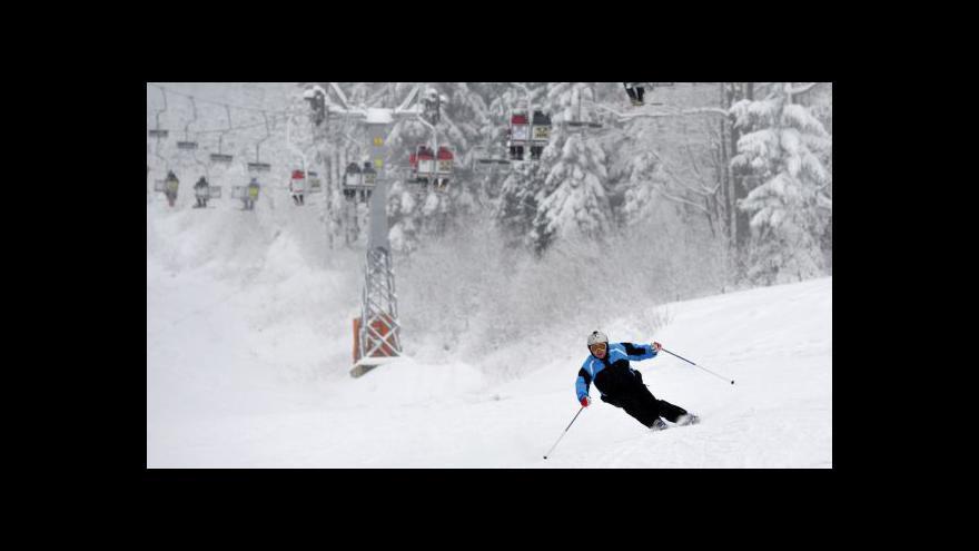 Video Rakouský Hochficht láká české lyžaře i pracovníky