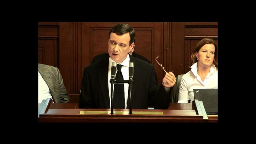 Video Projev Davida Ratha v Poslanecké sněmovně