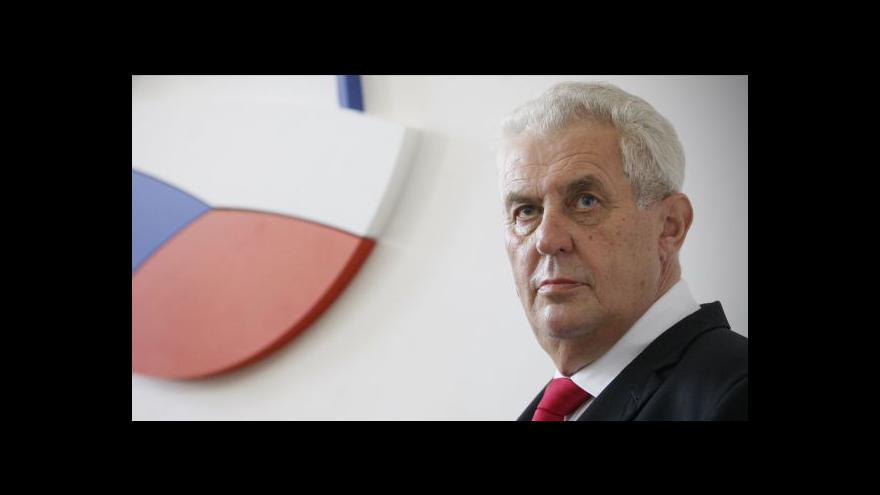 Video Ekonomika ČT24: Rozhovor s Milošem Zemanem