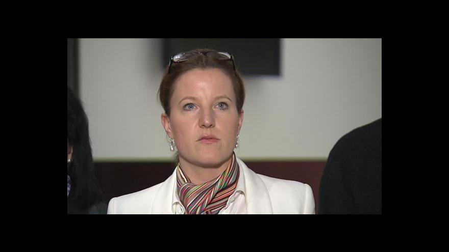 Video Tisková konference LIDEM k odvolání Karolíny Peake