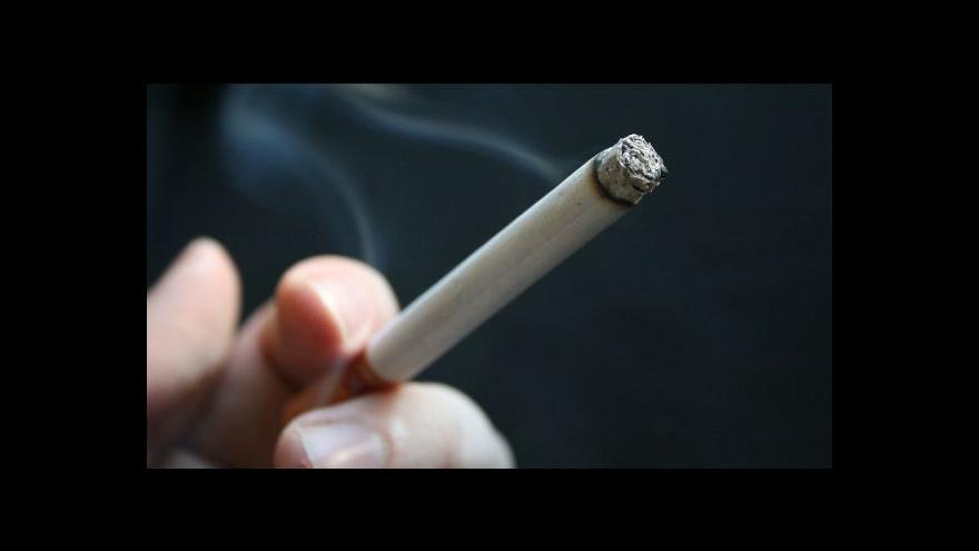 Video Změny v prodeji cigaret tématem Ekonomiky ČT24