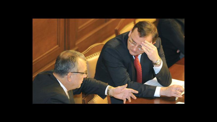 Video Sněmovnu čeká hlasování o daních a rozpočtu