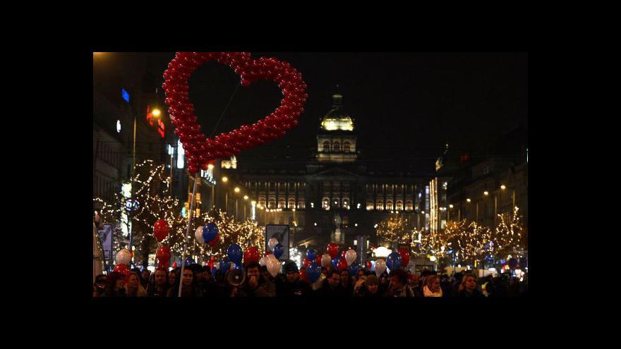 Video Vzpomínky na Václava Havla tématem Událostí, komentářů