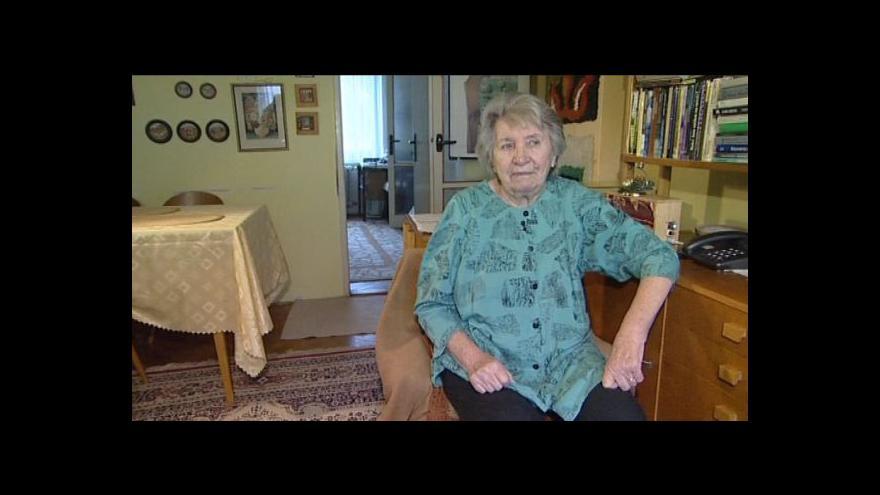 Video Marie Brichtová vzpomíná na setkávání s Václavem Havlem