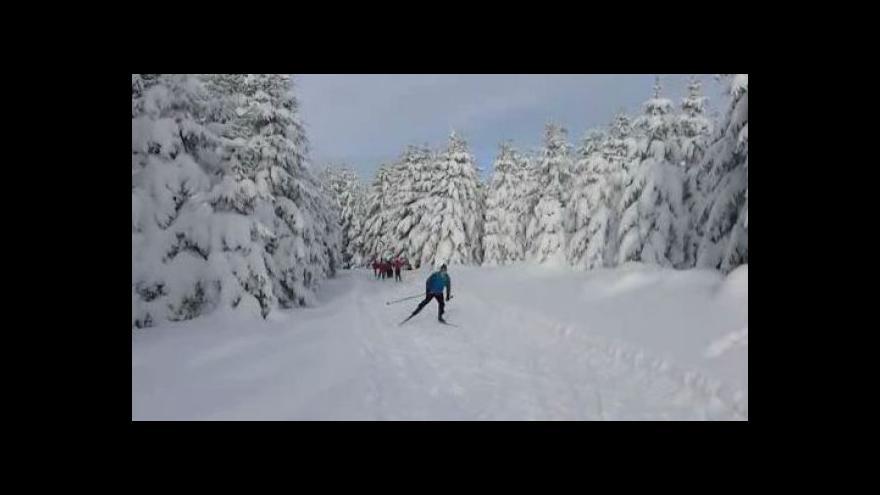 Video Soustředění mladých lyžařů