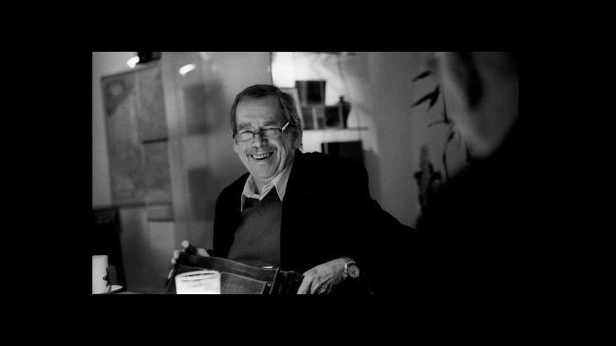 Video Uplynul rok od smrti Václava Havla