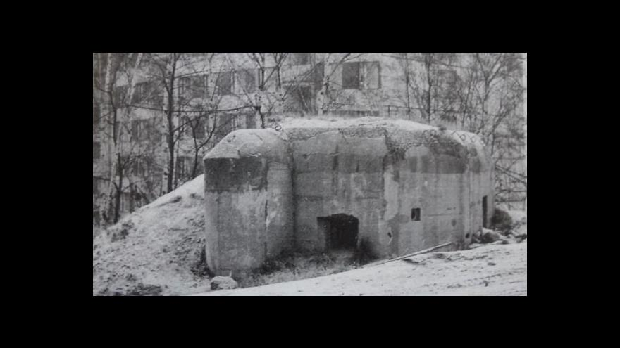 Video V Chomutově objevili nový bunkr