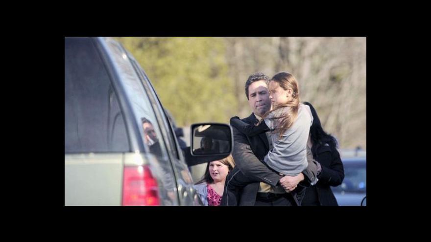 Video Střelba v Newtownu tématem Událostí