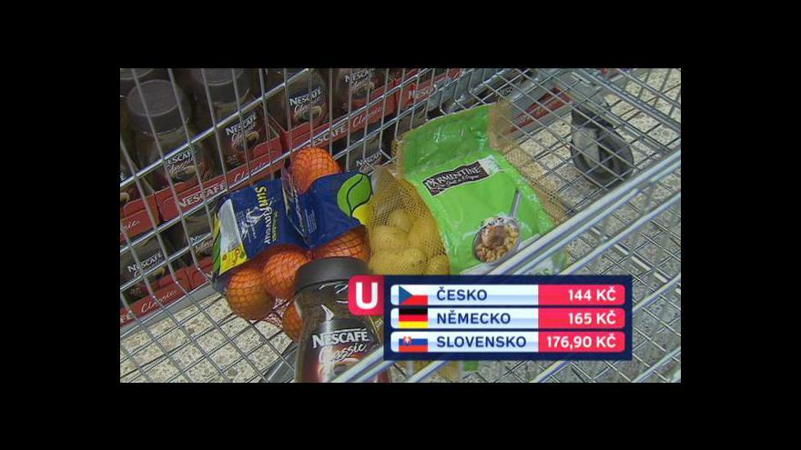 Video Téma Událostí: Srovnání cen potravin v ČR a v zahraničí