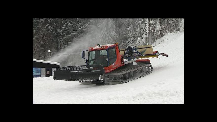 Video Na horách začíná zimní sezóna