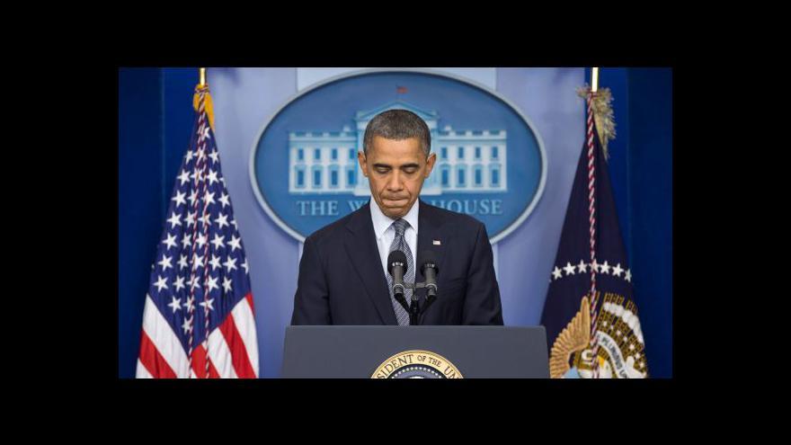 Video Obama k masakru v Newtownu