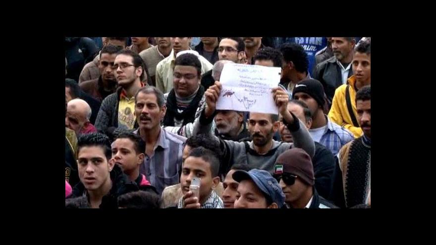 Video Egypťané rozhodují v referendu o návrhu nové ústavy