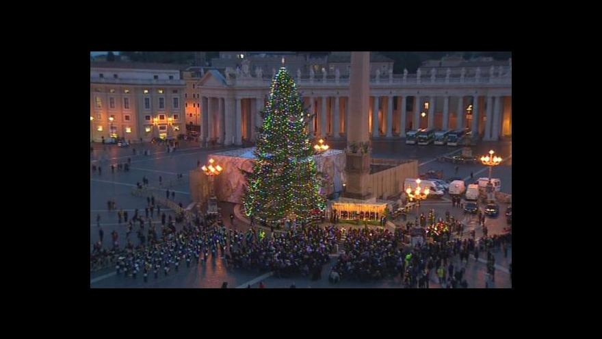 Video Vánoční stromy ve světě