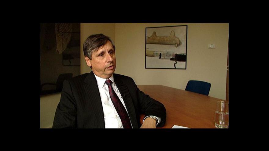 Video Ekonomika ČT24: Rozhovor s Janem Fischerem