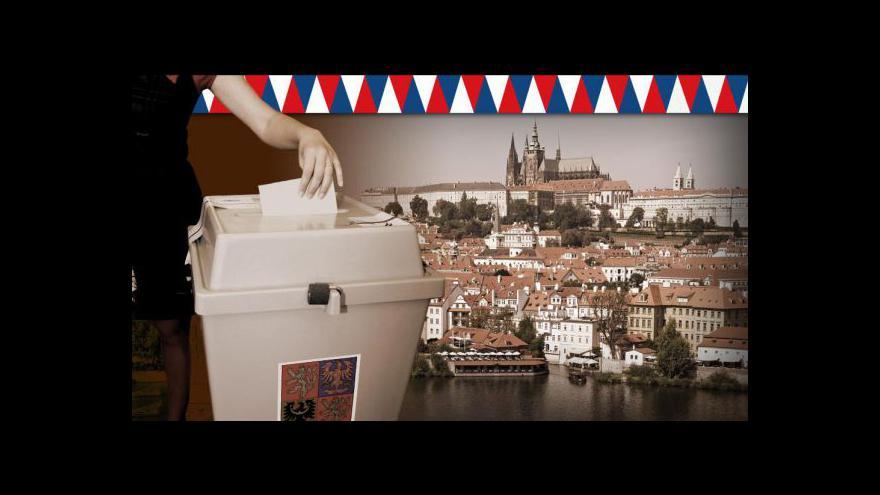 Video Losování volebních čísel