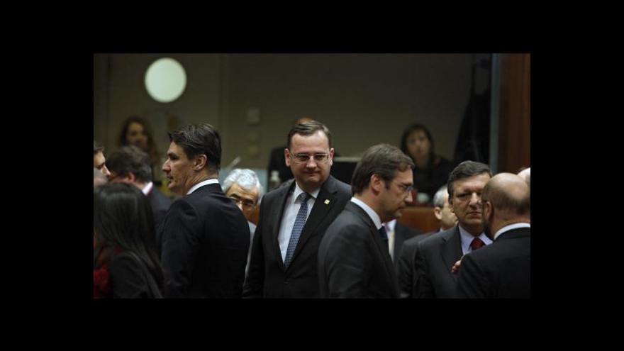 Video Brífink Petra Nečase k závěrům summitu