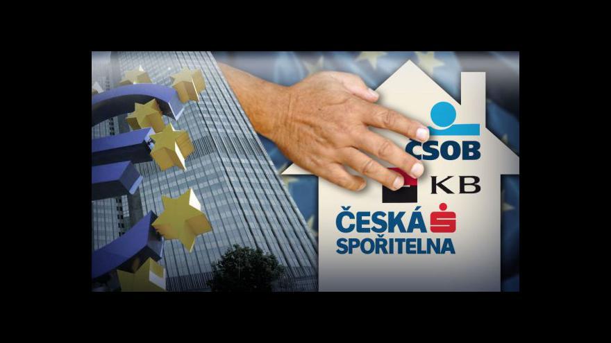 Video Bankovní unie tématem Událostí ČT