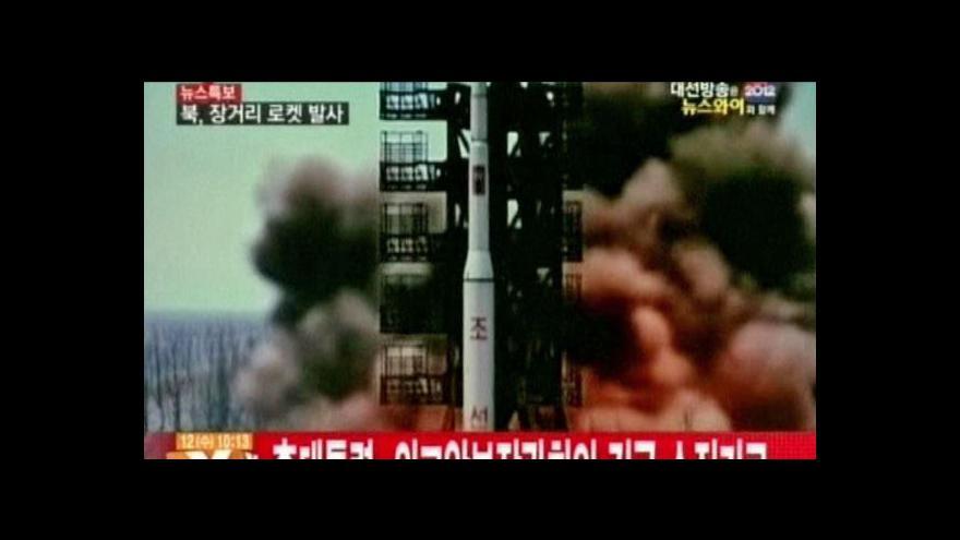 Video Severní Korea odpálila raketu dlouhého doletu