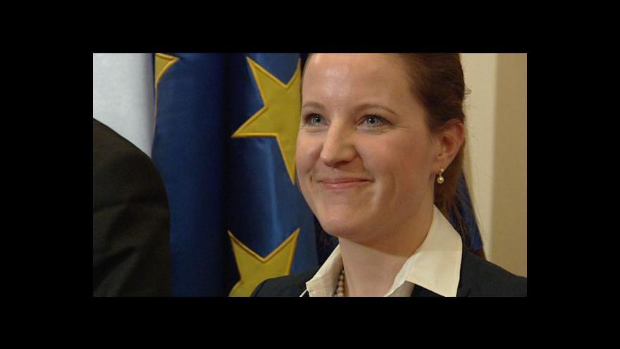 Video Reportáž Vladimíra Keblúška o jmenování nových ministrů